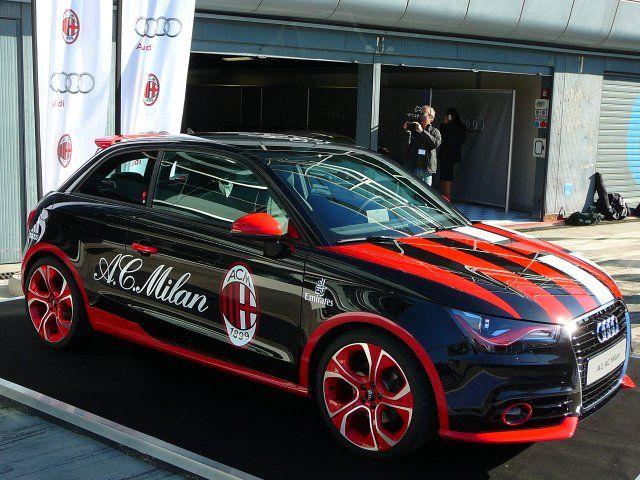 Audi A1 Ac Milan Audi A1 Audi Milan