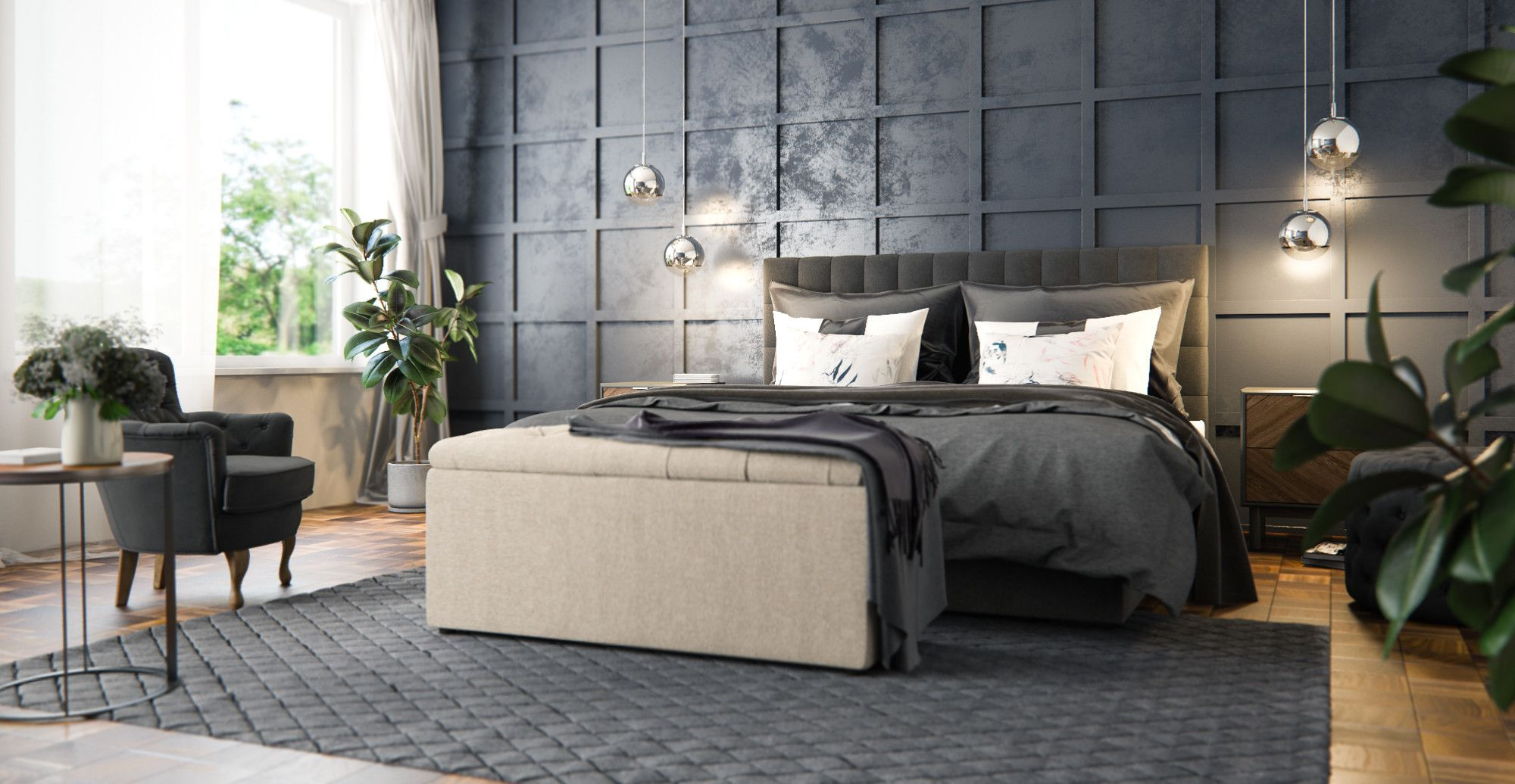 Leia Queen Gaslift Bed Frame In 2020 King Size Bed Frame Bed
