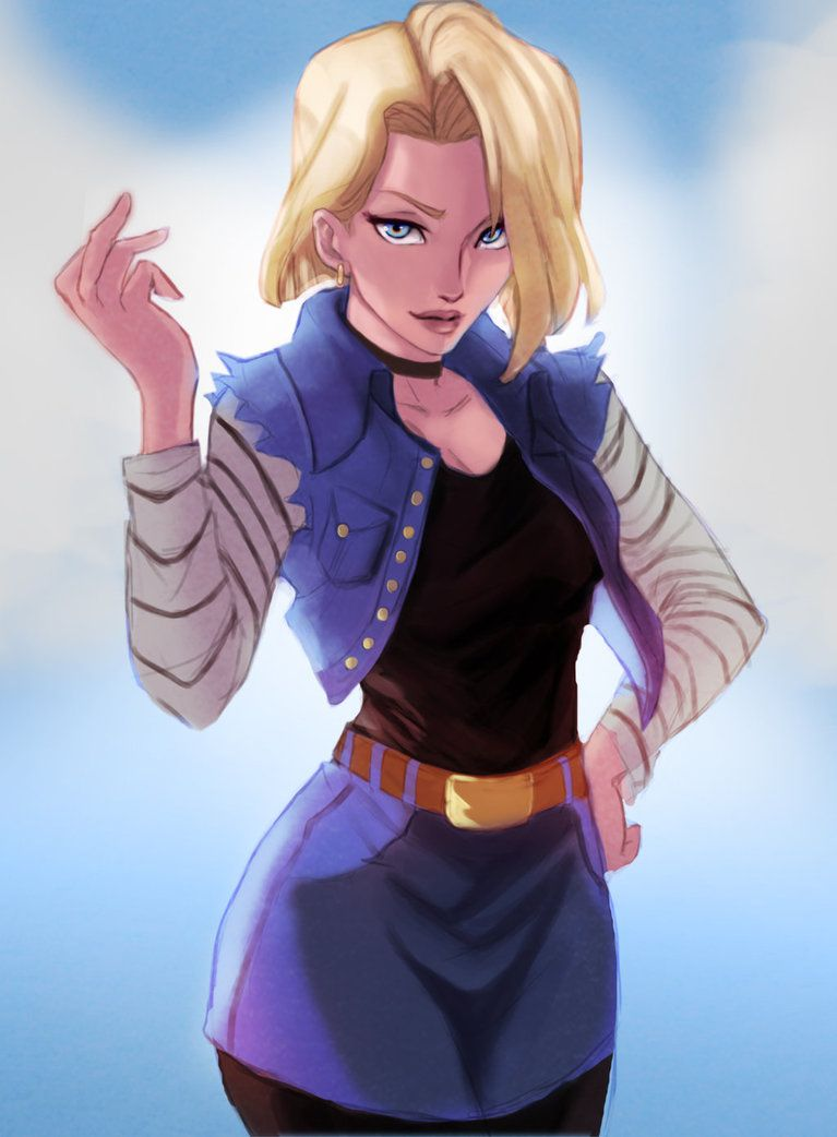 Android 18 dbz 18 - Dragon ball zc 18 ...