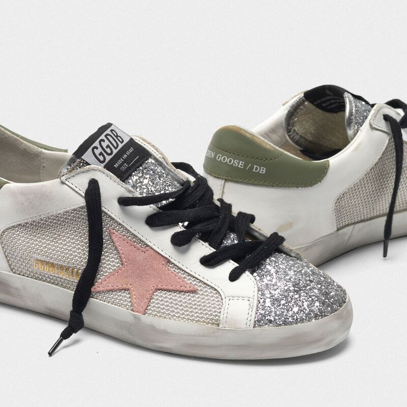 Super-Star sneakers with mesh and