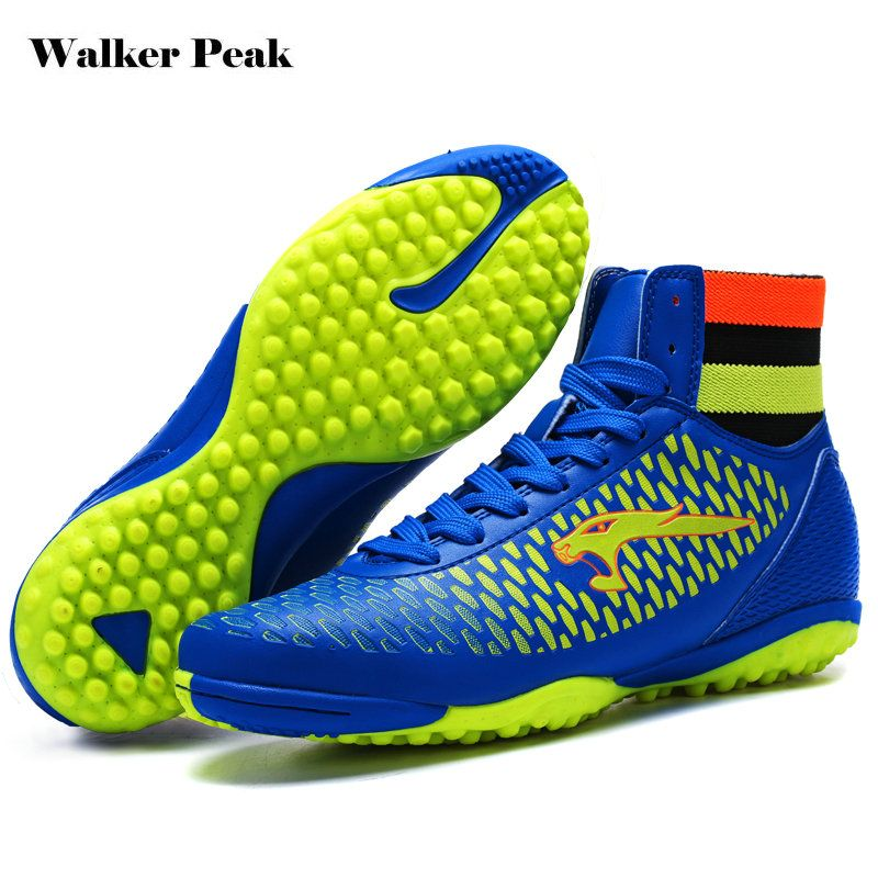 e790f2184bcfb High Ankle Football Boots Kids Botines Botas Futbol 2017 Youth Superfly  Soccer Sports Shoes Outdoor Training