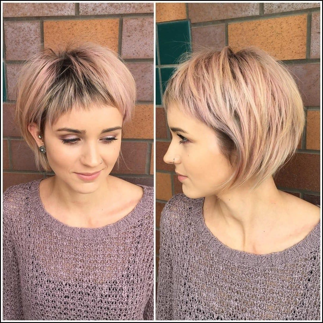 best short hairstyles for fine hair short haircuts for