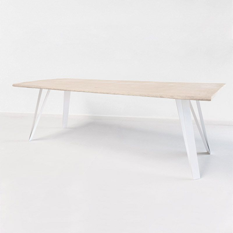 Pied de table en metal pour relooker vos meubles et table basses avec nos coloris rouge blanc - Pied pour table basse ...