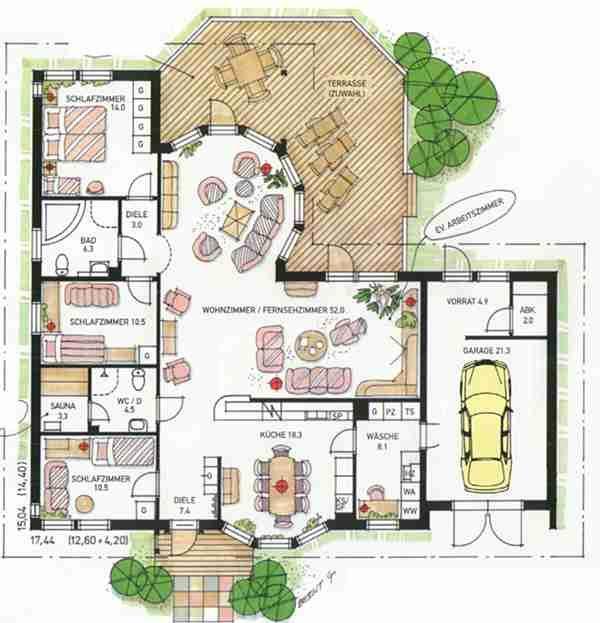 grundriss s rmland 3 hausideen pinterest plan maison plan de maison fonctionnelle et maison. Black Bedroom Furniture Sets. Home Design Ideas