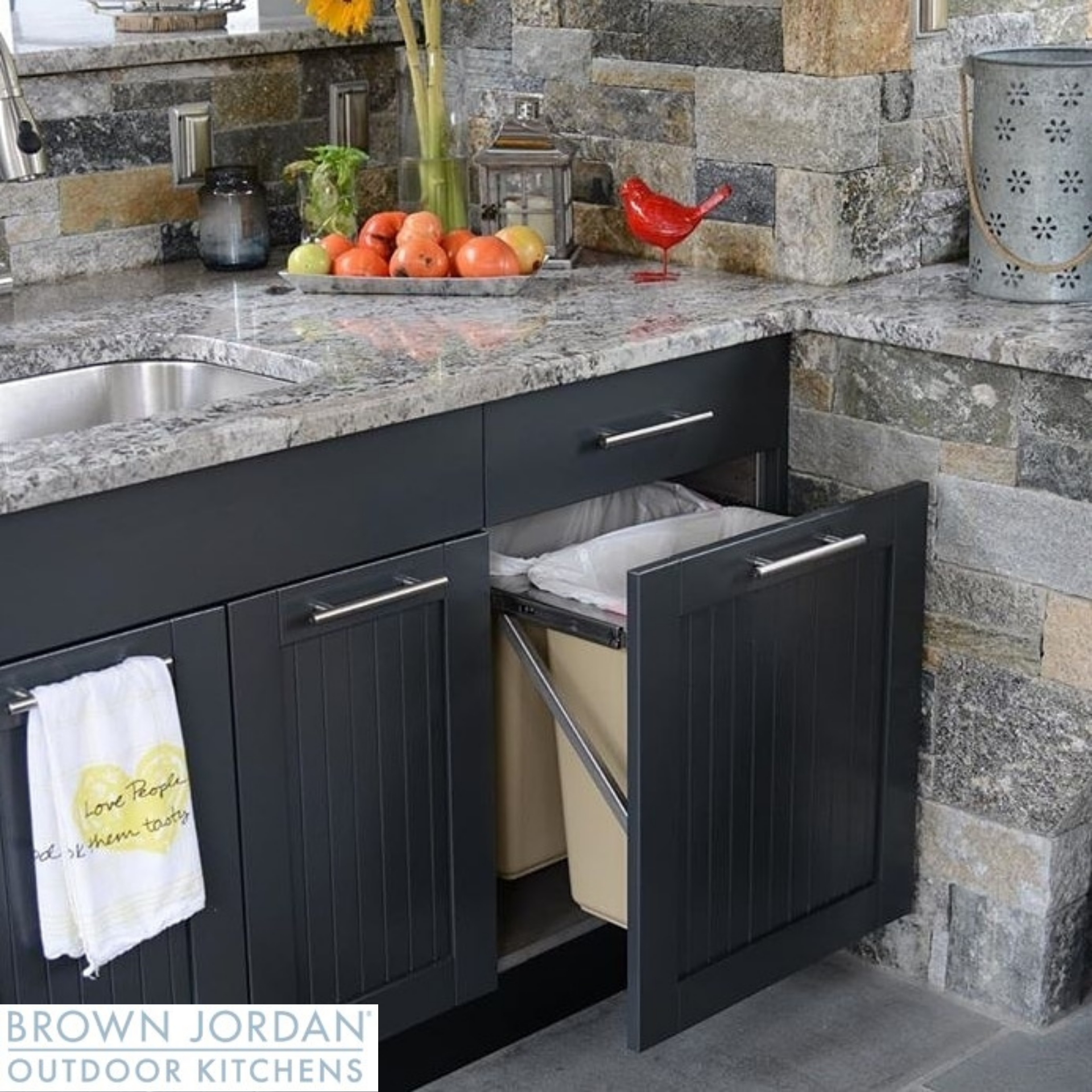 Outdoor Kitchen Stainless Steel 4 Piece Cabinet Set Newage Products Outdoor Kitchen Stainless Steel Cabinets Custom Countertops