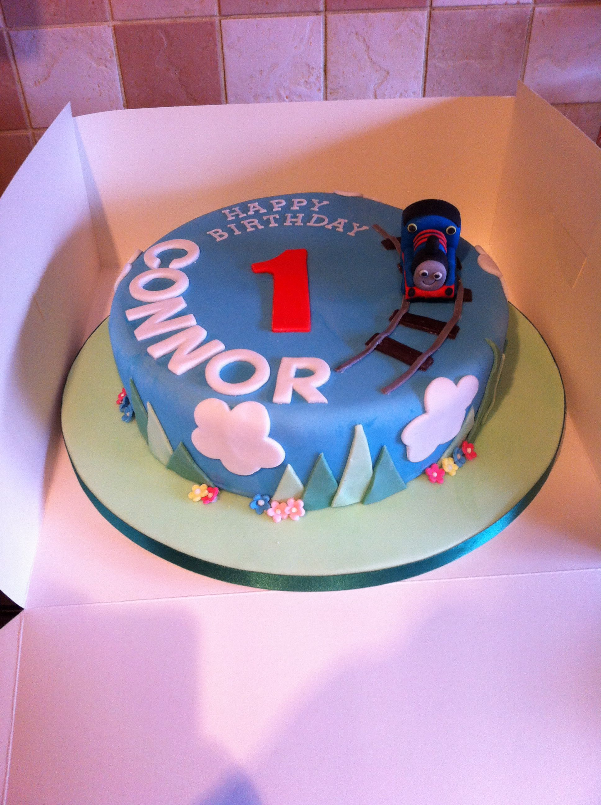 Thomas The Tank Engine Birthday Cake