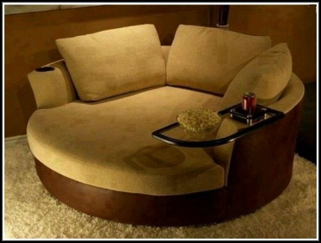Extra Large Round Sofa Leather Cleaner For Singapore Oversized Swivel Chair Rtg Seating Cuddle Couch Home