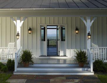 Ridgeside Vineyard Farmhouse - Farmhouse - Porch - Other Metro - Barnes Vanze Architects, Inc