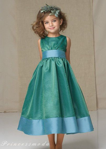 Jasmin festkleid blumenm dchen von princessmoda auf festive girls dresses - Festliche kleider kommunion ...