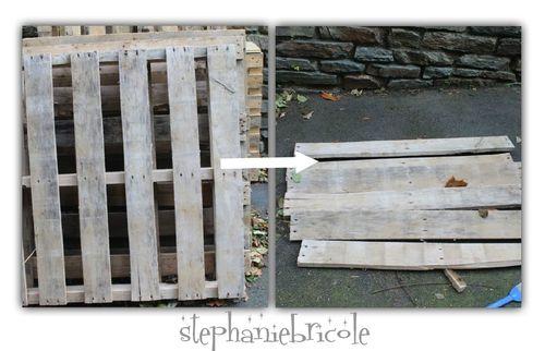 Comment récupérer et désosser une palette en bois Upcycling and Dan - reparation de porte en bois