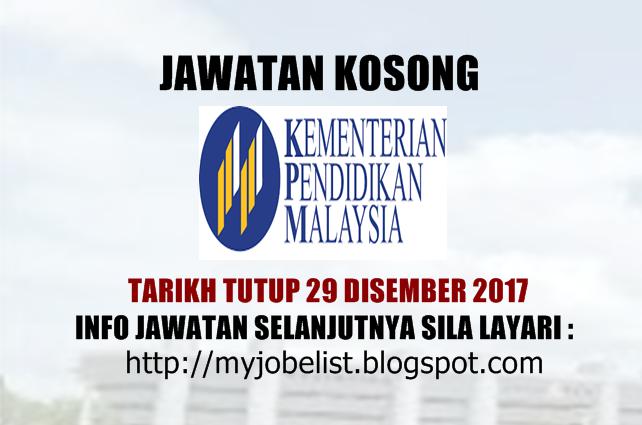 Jawatan Kosong Pekerja Sambilan Harian Psh Kpm Pendidik2u