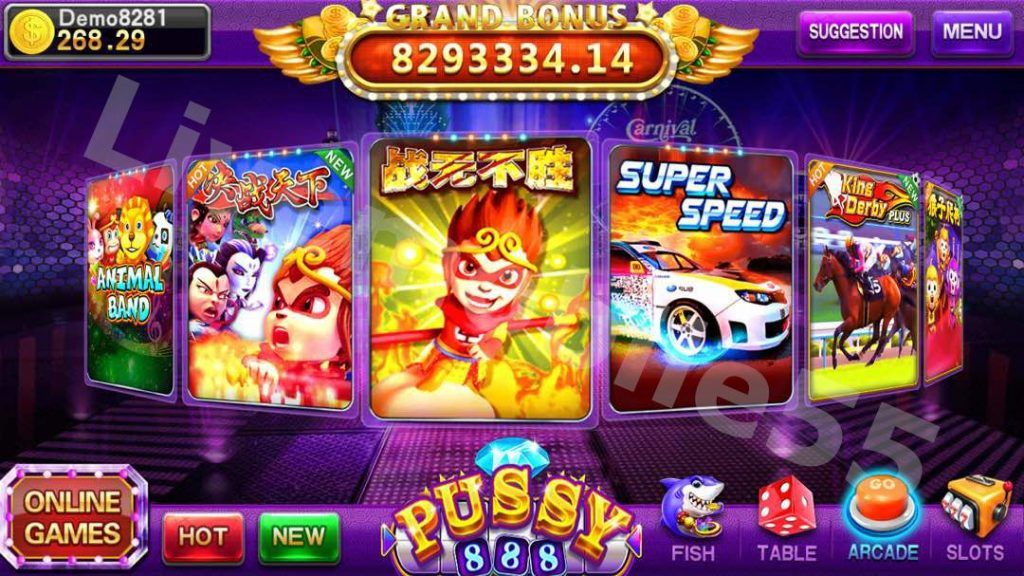 Pussy888 | Play casino games, Games, Play game online