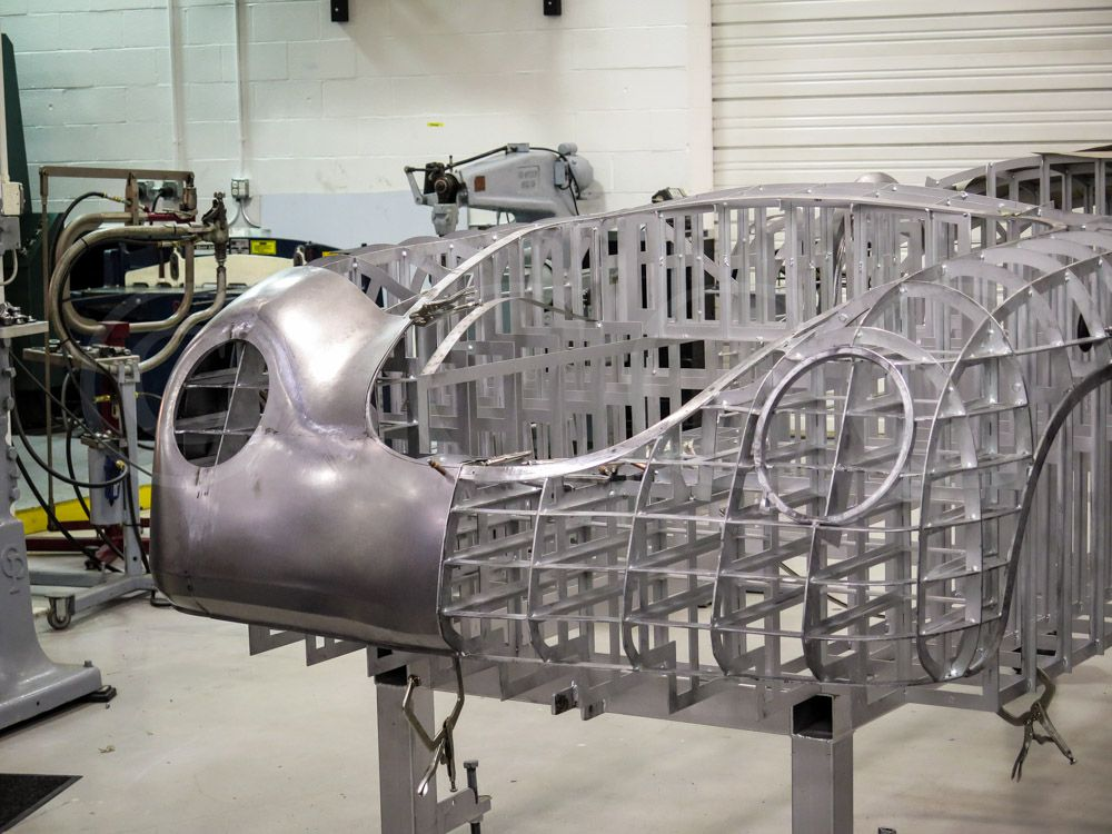 Carolina Coach Crafters Is Proud To Have Designed And Built The Worlds First And Only All Steel Cnc Machined Bo Porsche 356 Speedster Porsche 356 Metal Shaping