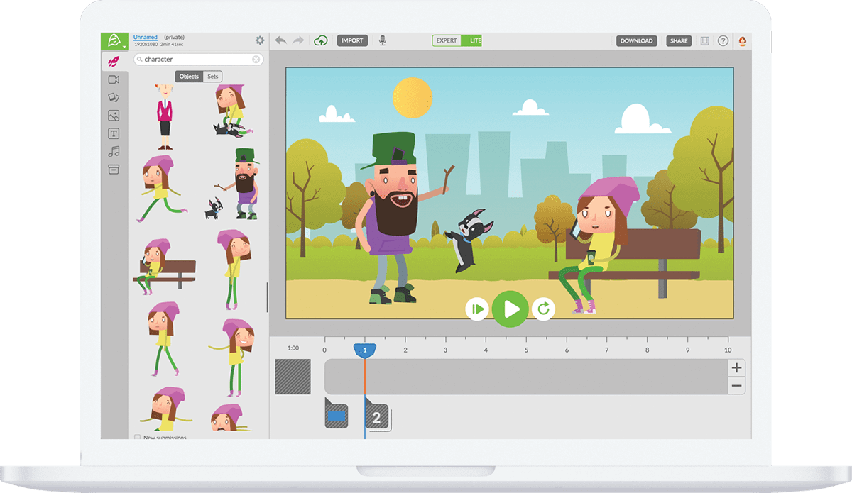 Animatron empowers educators to be video and animation