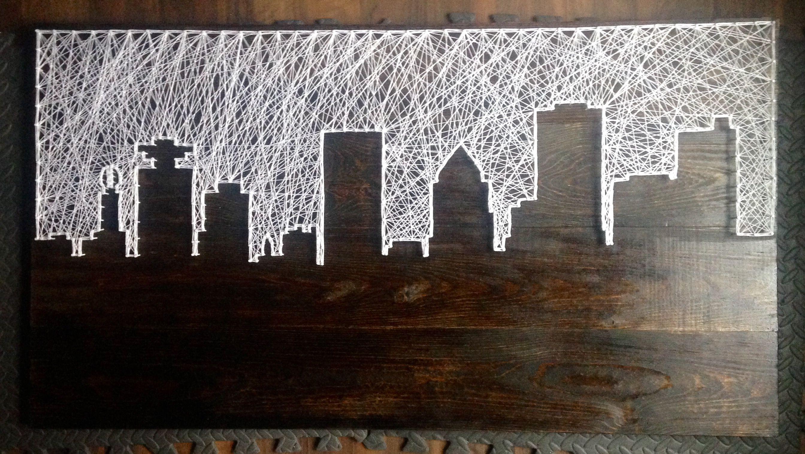 Rochester Ny Skyline String Art String Art Pinterest String