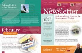 image result for college newsletter templates newsletter content