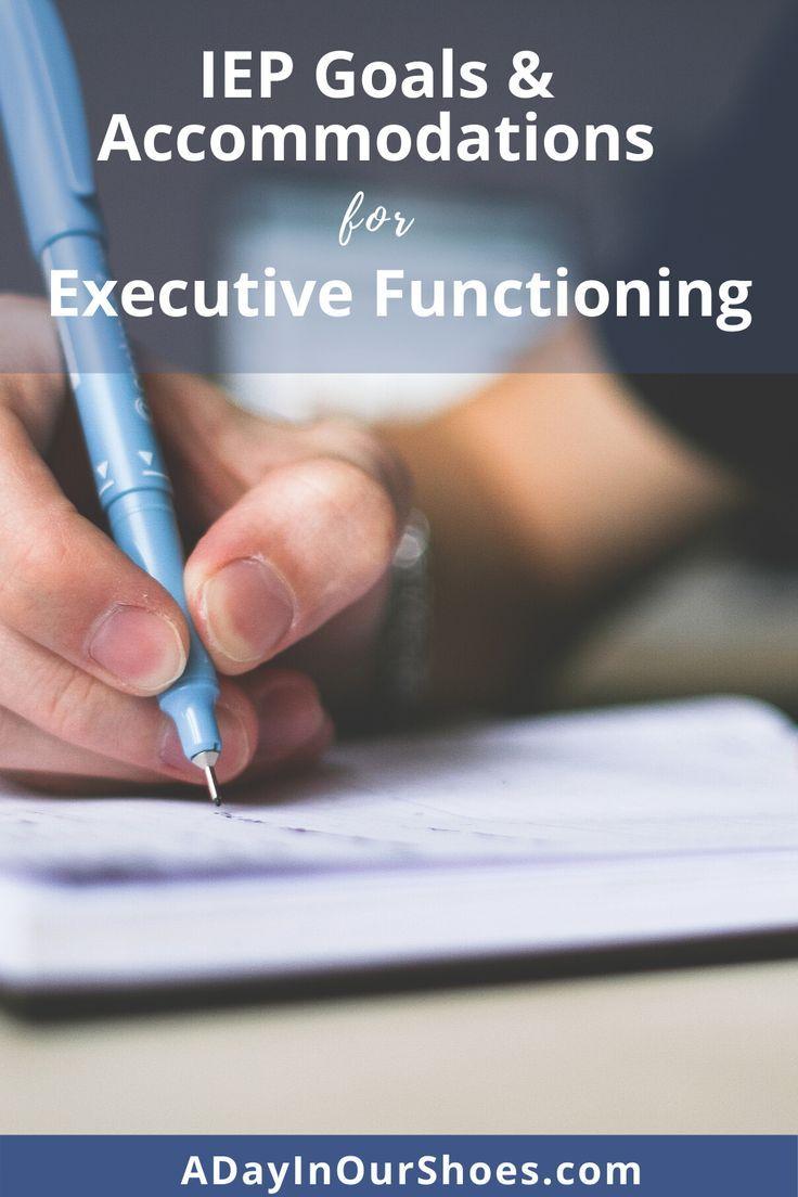 Executive functioning executive functioning goals
