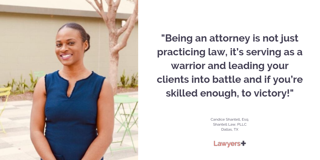 Candice Shantell Patrick Esq Founded Shantell Law In Dallas