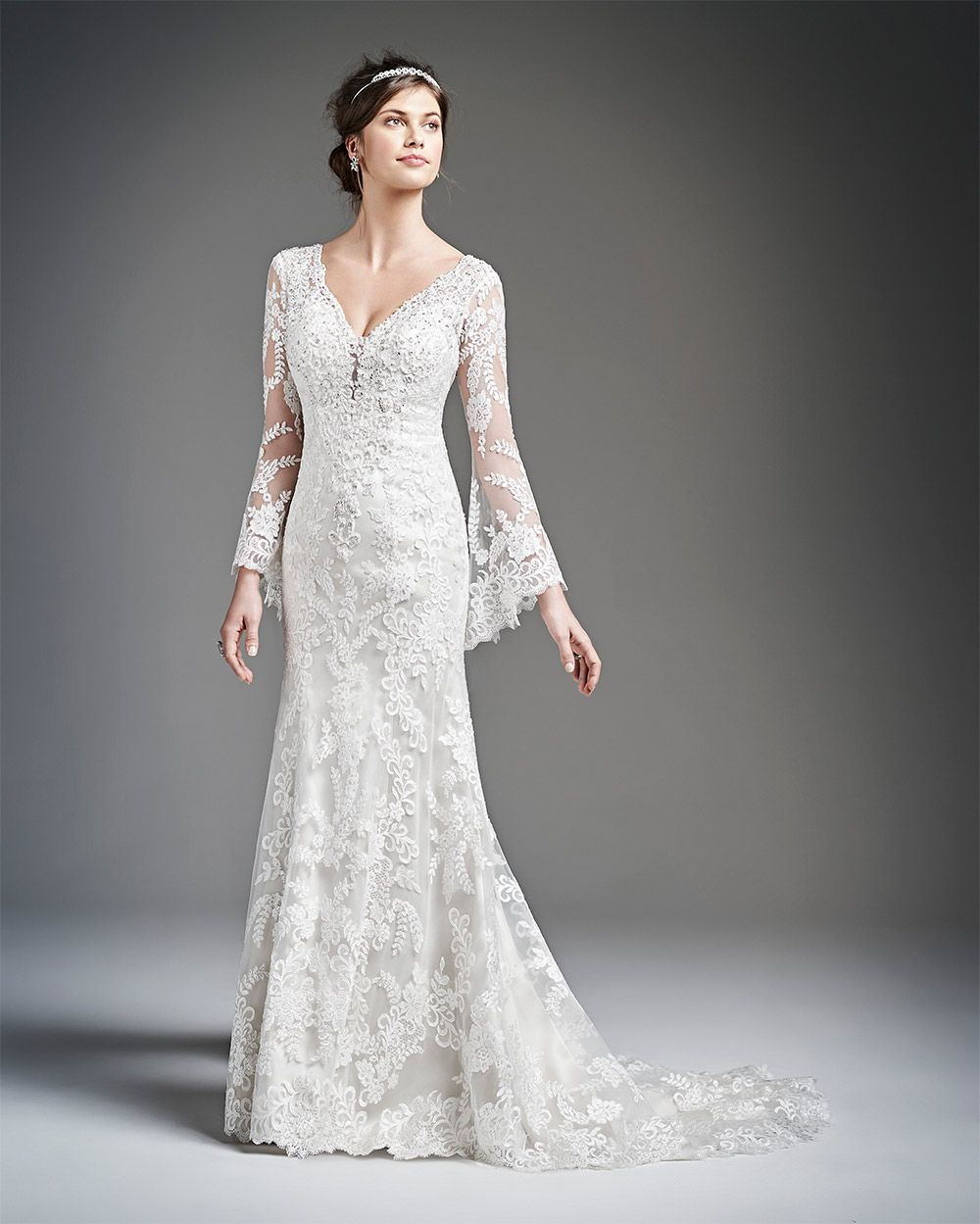 Wedding Dress For Older Bride More