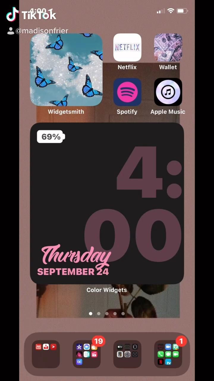 Home Screen Video Homescreen Spotify Apple Apple Music