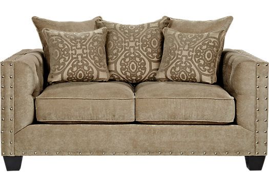 shop for a cindy crawford home sidney road loveseat at rooms to go find loveseats