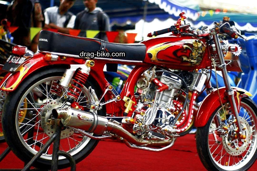 Modifikasi Motor Cb Paling Bagus Honda Cb Motor Gambar