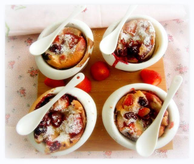 Sugarlove55: Clafoutis de Fresas