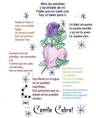 Poemas La Escuela Imagui Rhymes Poetry Journal