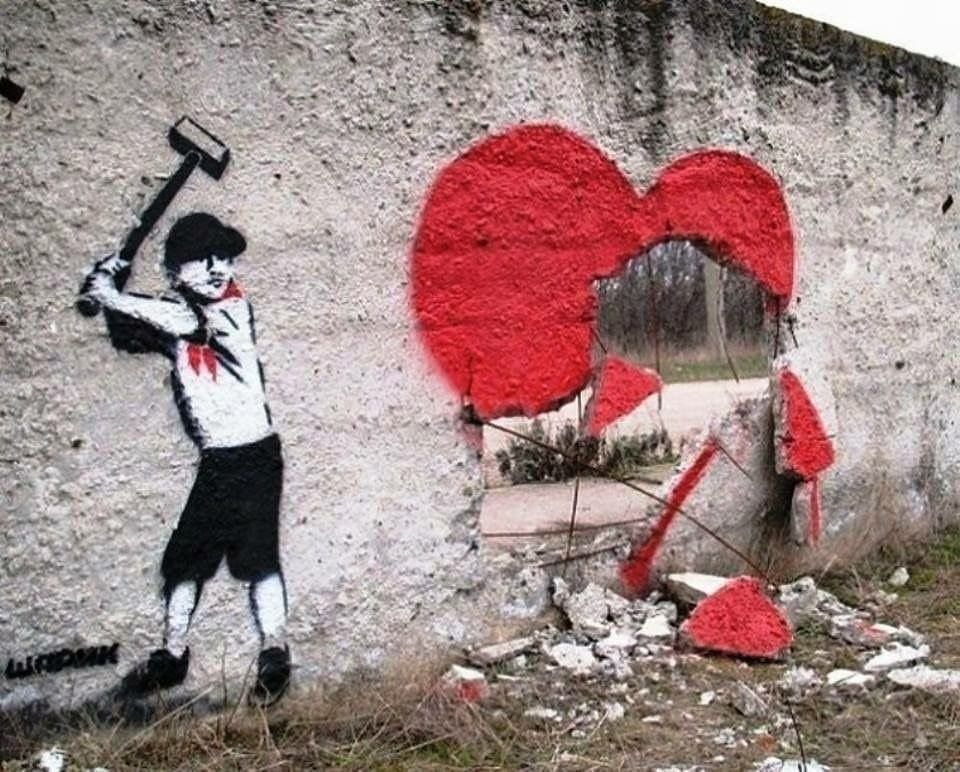 Broken heart by Sharik in Kiev