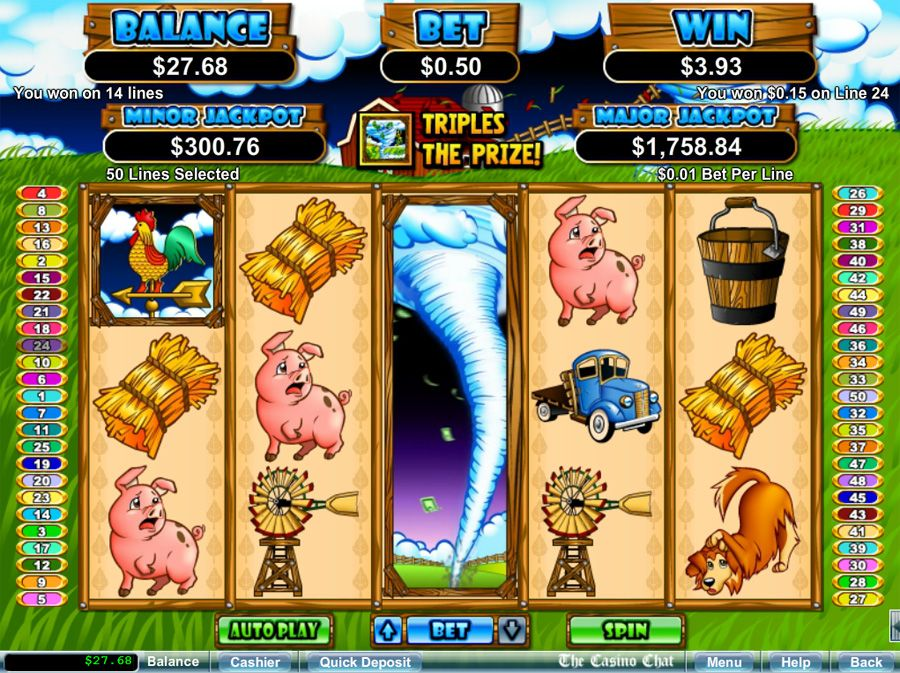 Free Slot Machine Triple Twister