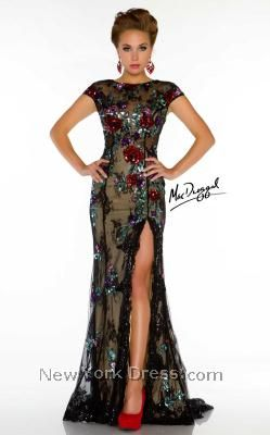 Mac Duggal 85207D - NewYorkDress.com  It's pretty, but I'm not sure that I could make it as modest as I want it to be...such a shame!