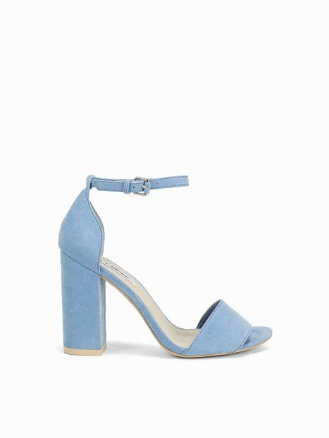63c5b33363 Block Heel Sandal - Nly Shoes - Light Blue - Party Shoes - Shoes - Women -  Nelly.com Uk