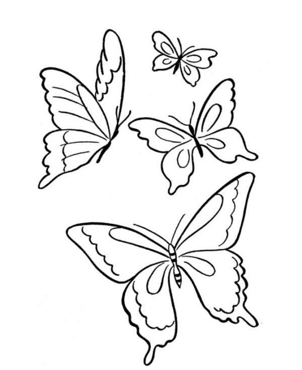 coloring pages of flying ladybugs - photo#20