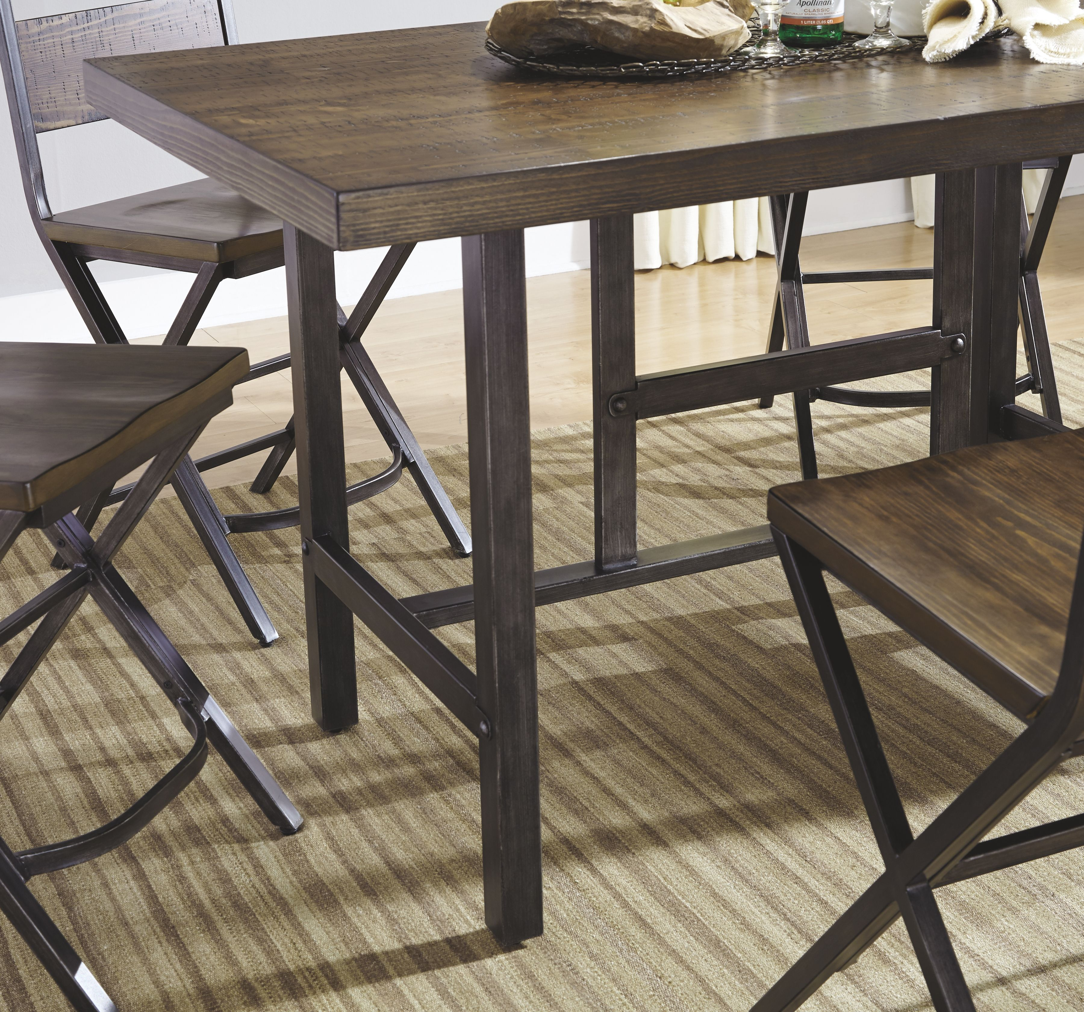 29+ Ashley kavara counter height dining table in medium brown Best