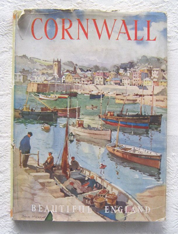 'CORNWALL' by R. Thurston Hopkins and Jack Merriott ('Our Beautiful Homeland' series) c.1950s.