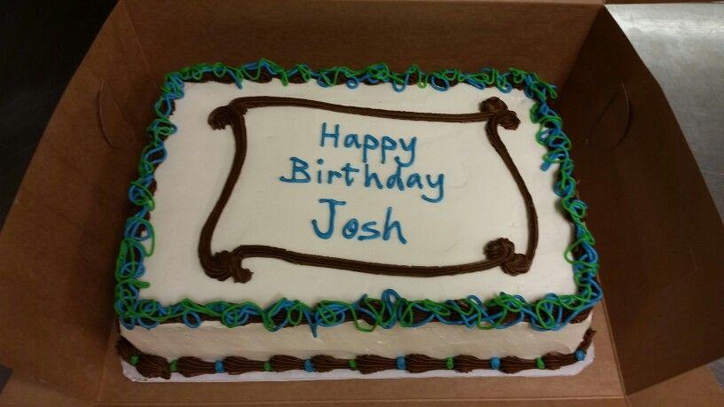 Birthday cake for guy