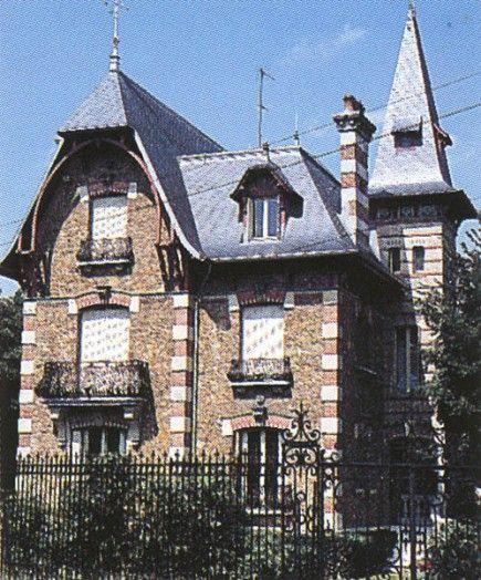 Déco Maison Meuliere: Maison Du 62 Promenade Des Anglais à Saint-Maur-des-Fossés
