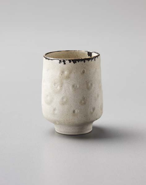 """LUCIE RIE, 1902-1995 Miniature """"Rice"""" pattern bowl : Lot 36"""