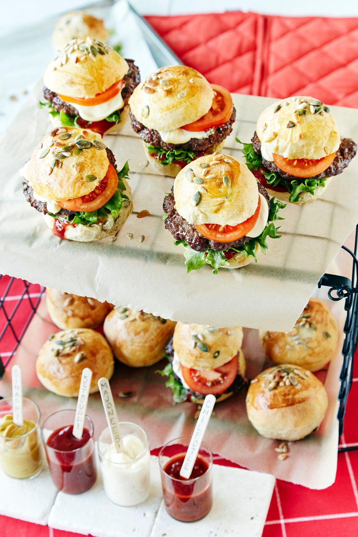 Briossisämpylät   K-ruoka #hampurilaissämpylä #hampurilainen #burgeri