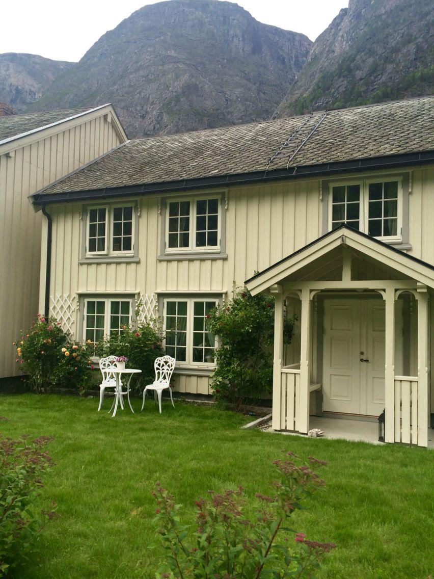 Норвежские старые уютные дома