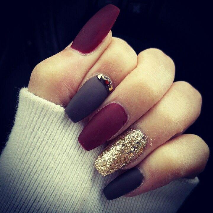 Favorite matte nails | Unghie | Pinterest | Matte nails, Makeup and ...