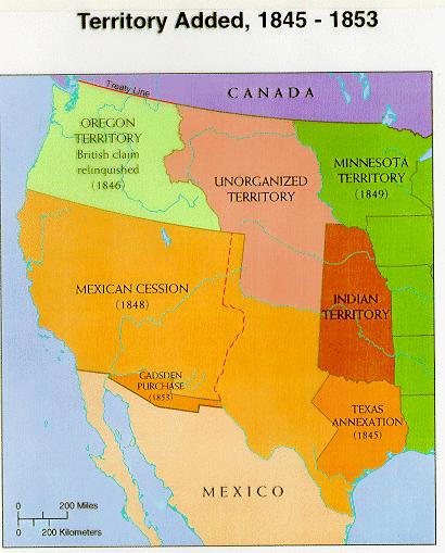 HauntedPtown on | APUSH Per. 4 1800 - 1848 | Mexican american war ...