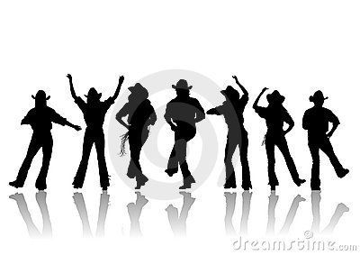 Line Dance Sayings Share Dance Silhouette Dancer Silhouette Country Line Dancing