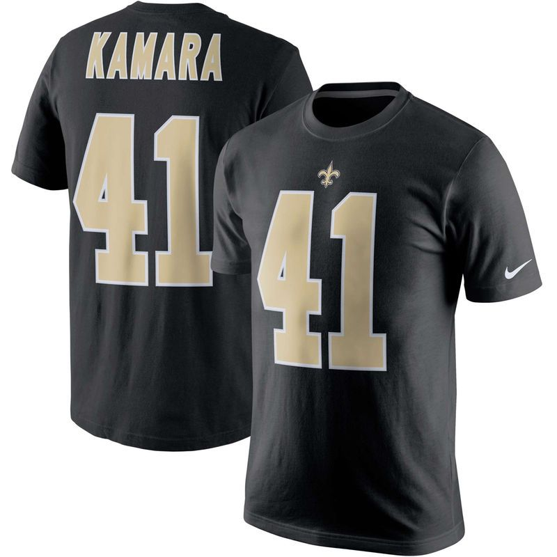 ac4d3410 Alvin Kamara New Orleans Saints Nike Player Pride Name & Number T ...