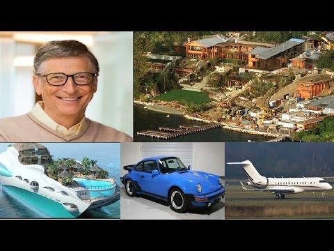 Bill Gates Biography ★ Net Worth ★ House ★ Cars ★ Planes ★ Yacht ★ Inc... | bill gates | Bill ...