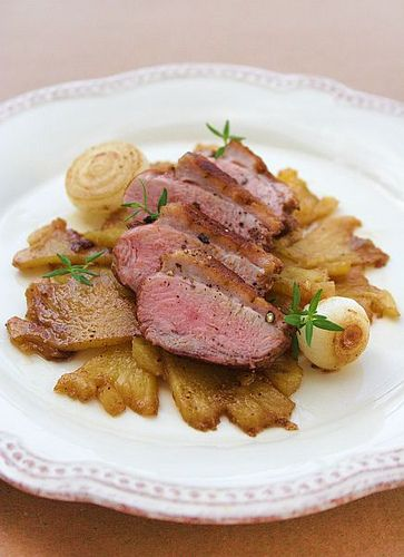 Pineapple Duck Breasts