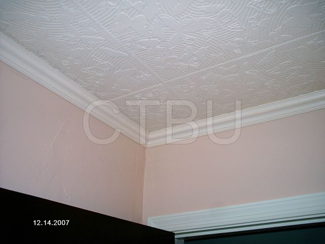 Decorative Styrofoam Ceiling Tiles Diy Styrofoam Ceiling Tile Over Water Stained Popcorn Ceiling