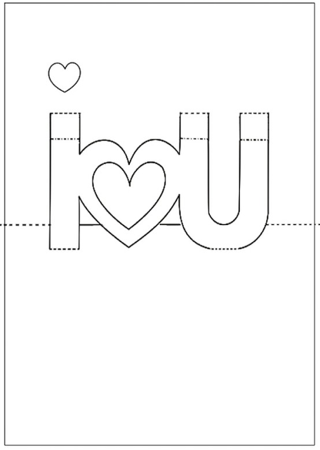Honey Butter Free Printable Valentine S Day Pop Up Card Pop Up Card Templates Pop Up Valentine Cards Valentine Card Template
