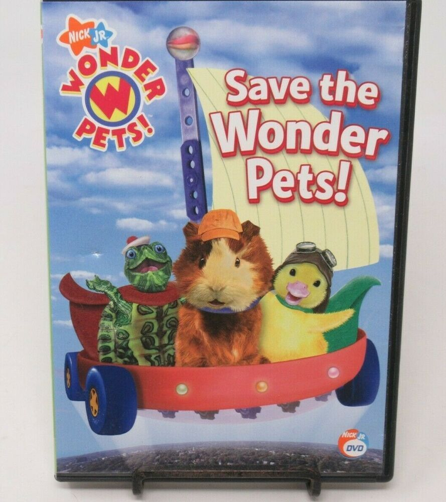 Wonder Pets Save The Wonder Pets Animated Dvd Nick Jr 4 Episodes Fs Ebay In 2020 Wonder Pets Nick Jr Pets