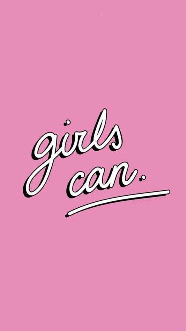Girls Can! Heck yeah! Feminist art and love all the way.